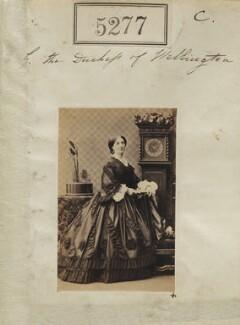 Elizabeth Wellesley (née Hay), Duchess of Wellington, by Camille Silvy - NPG Ax53314