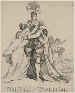King George IV ('Paternal Protection'), publshed by Robert Dighton - NPG D47132