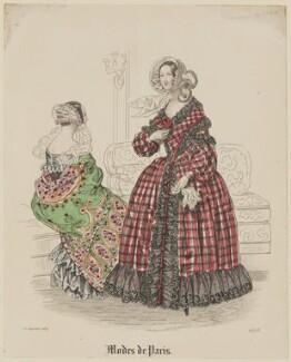 'Modes de Paris', 10 September 1839, probably by Hippolyte Damours, probably published by  S. & J. Fuller, first published in  Petit Courrier des Dames, Journal des Modes - NPG D47821
