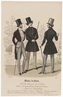 'Modes de Paris', 31 March 1839, probably by Hippolyte Damours, published by  S. & J. Fuller, first published in  Petit Courrier des Dames, Journal des Modes - NPG D47841