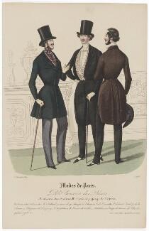 'Modes de Paris', 30 November 1839, probably by Hippolyte Damours, probably published by  S. & J. Fuller, first published in  Petit Courrier des Dames, Journal des Modes - NPG D47849