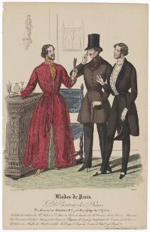 'Modes de Paris', 31 December 1839, probably by Hippolyte Damours, published by  S. & J. Fuller, first published in  Petit Courrier des Dames, Journal des Modes - NPG D47850