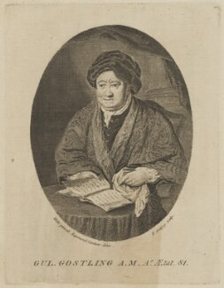 William Gostling, by Richard Godfrey, after  John Raymond, after  Conrad Martin Metz - NPG D48100