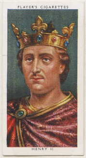 King Henry II, published by John Player & Sons, after  George Vertue - NPG D48115