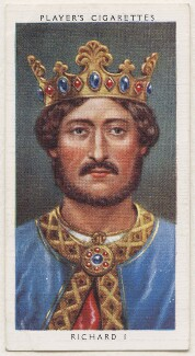 King Richard I ('the Lionheart'), published by John Player & Sons, after  George Vertue - NPG D48116