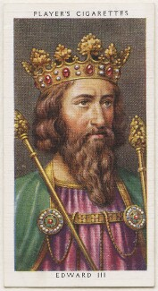 King Edward III, published by John Player & Sons, after  George Vertue - NPG D48121