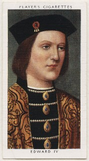 King Edward IV, published by John Player & Sons, after  Unknown artist - NPG D48126
