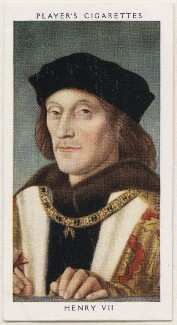 King Henry VII, published by John Player & Sons, after  Unknown artist - NPG D48129