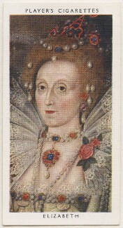 Queen Elizabeth I, published by John Player & Sons, after  Marcus Gheeraerts the Younger - NPG D48137