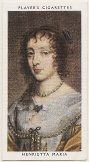 Henrietta Maria, published by John Player & Sons, after  Sir Anthony van Dyck - NPG D48140
