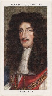 King Charles II, published by John Player & Sons, after  John Michael Wright - NPG D48141