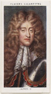 King James II, published by John Player & Sons, after  Unknown artist - NPG D48143