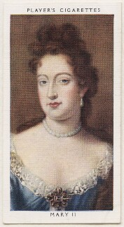Queen Mary II, published by John Player & Sons, after a portrait attributed to  Jan van der Vaart - NPG D48145
