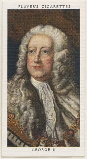 King George II, published by John Player & Sons, after  Thomas Hudson - NPG D48148