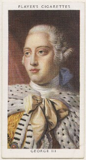 King George III, published by John Player & Sons, after a portrait attributed to the studio of  Allan Ramsay - NPG D48150