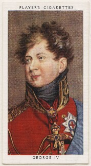 King George IV, published by John Player & Sons, after  Sir Thomas Lawrence - NPG D48152