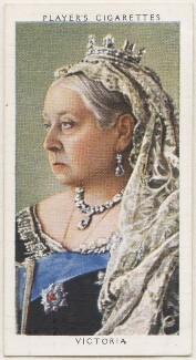 Queen Victoria, published by John Player & Sons, after  W. & D. Downey - NPG D48156