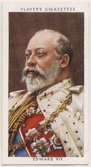 King Edward VII, published by John Player & Sons, after  W. & D. Downey - NPG D48157