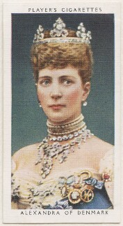 Queen Alexandra, published by John Player & Sons - NPG D48158