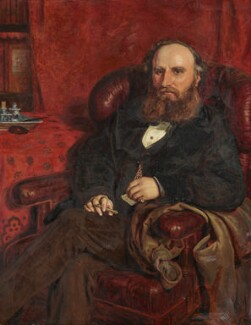 John Osborne Riches, by Ford Madox Brown - NPG L264