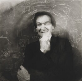 Sir Roger Penrose, by Dudley Reed - NPG x200055