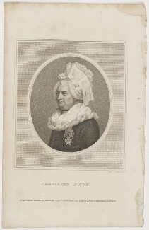 Chevalier d'Eon, by Robert Cooper, published by  John Bell - NPG D48163