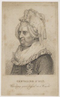 Chevalier d'Eon, by Robert Cooper, published by  James Robins - NPG D48164