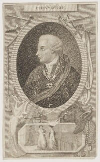Chevalier d'Eon, by Mackenzie, published by  James Cundee - NPG D48167