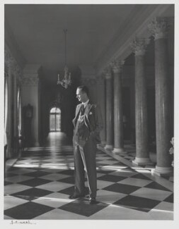 Oliver Sherwell Franks, Baron Franks of Headington, by Yousuf Karsh - NPG P2075