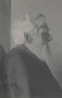 Alfred Russel Wallace, by Florence Chant - NPG x5115
