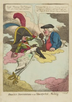 Boney Bothered or an Unexpected Meeting, by Charles Williams, published by  Thomas Tegg - NPG D47475