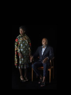Thelma Golden and Duro Olowu ('Thelma & Duro'), by Catherine Opie - NPG P2076