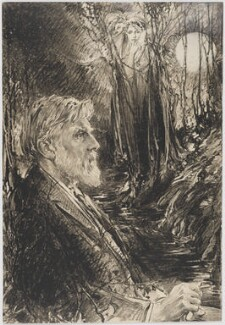 Robert Bridges, by Eric Pape - NPG D48181