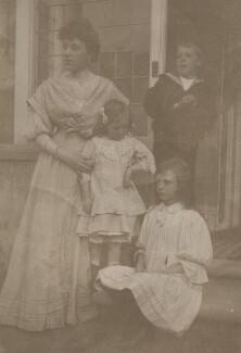 Lillian Steiner (née Blumberg); Irene Howard; Doris ('Dorice') Stainer; Alfred Charles ('Jimmy') Steiner, by Unknown photographer - NPG x200122