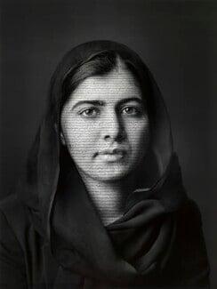 Malala Yousafzai, by Shirin Neshat, 2018 - NPG  - © National Portrait Gallery, London