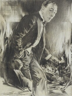 Lionel Atwill in 'The Silent Witness', by Eric Pape - NPG D48185