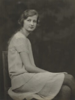 Joan Morley (née Buckmaster), by Marcus Adams - NPG x199861