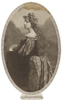 Baroness Catherine d'Erlanger, by Lafayette - NPG Ax105723