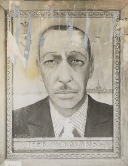 Igor Fyodorovich Stravinsky, by Unknown photographer, after  Baroness Catherine d'Erlanger - NPG Ax105759