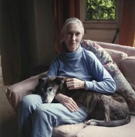 Dame (Valerie) Jane Goodall (née Morris-Goodall), by Jillian Edelstein - NPG x200098