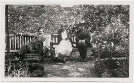 Simon Bussy; Vanessa Bell; Duncan Grant, by Lady Ottoline Morrell - NPG x141318