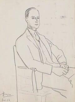 Albert ('Bertie') Clinton Landsberg, by Pablo Picasso - NPG Ax105766