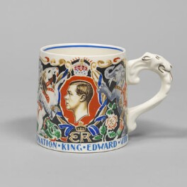 Prince Edward, Duke of Windsor (King Edward VIII), designed by Dame Laura Knight, manufactured by  Burgess & Leigh Limited (Burleigh) - NPG D48190