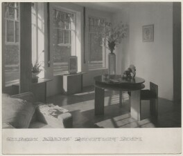 Gilbert Adams' Reception Room, by Gilbert Adams - NPG x199872