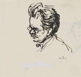 Elias Canetti, by Milein Cosman - NPG 7089