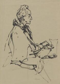 Jean Cocteau, by Milein Cosman - NPG 7090