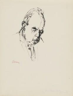 Sir Ernst Hans Josef Gombrich, by Milein Cosman - NPG 7093