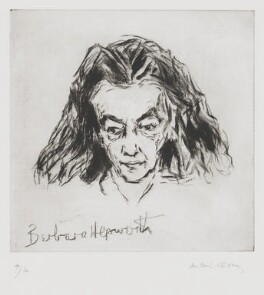 Barbara Hepworth, by Milein Cosman - NPG 7097