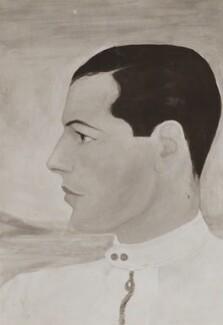 Gerard John Regis Leo d'Erlanger, by Unknown photographer, after  Baroness Catherine d'Erlanger - NPG Ax105821