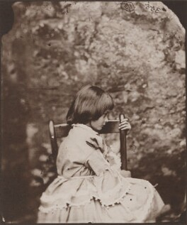 Alice Liddell, by Lewis Carroll - NPG x200146